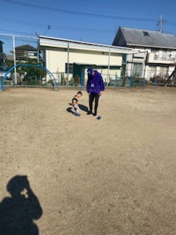 息子とサッカーサムネイル